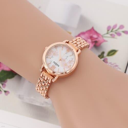 파미에 여성 메탈 손목시계(로즈골드)/ 여자손목시계