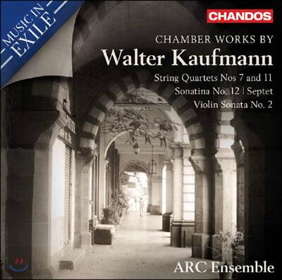 Jamie Kruspe 월터 카우프만: 실내악 작품집 (Walter Kaufmann: Chamber Works)