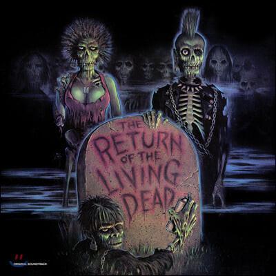 바탈리언 영화음악 (The Return of the Living Dead Original Soundtrack) [레드 스플래터 컬러 LP]