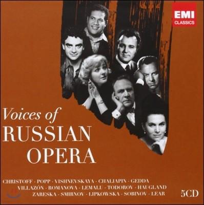 러시아 오페라의 명가수 (Voices of Russian Opera)