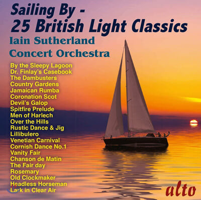 Iain Sutherland 영국 경음악 모음집  (Sailing By - 25 British Light Classics)