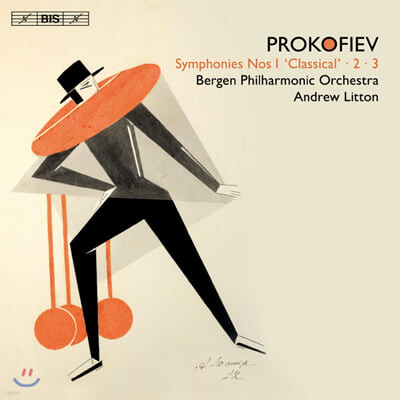 Andrew Litton 프로코피예프: 교향곡 1, 2, 3번 - 앤드류 리톤 (Prokofiev: Symphony Opp.25, 40, 44)