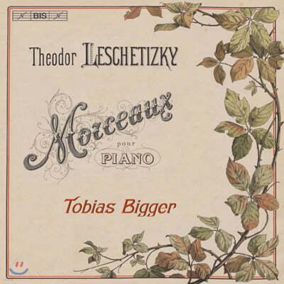 Tobias Bigger 테오도르 레셰티츠키: 피아노 작품집 (Theodor Leschetizky: Morceaux Pour Piano)