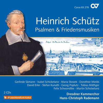 Hans-Christoph Rademann 쉬츠: 시편과 평화를 위한 음악 [쉬츠 전곡 20집]