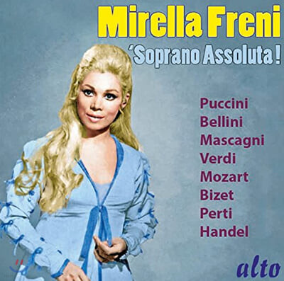 Mirella Freni 미렐라 프레니 소프라노 베스트 모음집 (Soprano Assoluta!)