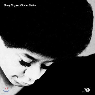 Merry Clayton (메리 클레이튼) - Gimme Shelter [블랙 & 화이트 '그레이 아이' 컬러 LP]