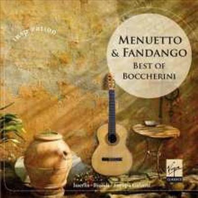 보케리니 - 미뉴엣과 판당고 (Menuetto & Fandango - Best of Boccherini)(CD) - Fabio Biondi