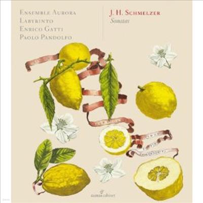 슈멜처 : 바이올린 소나타 (Schmelzer: Violin Sonatas)(CD) - Enrico Gatti