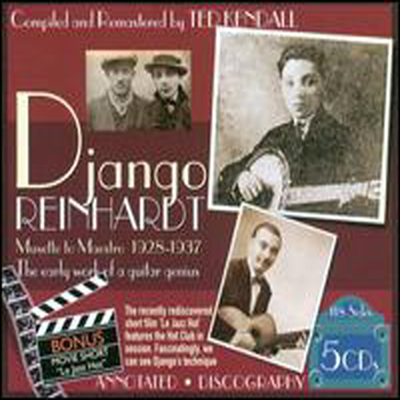 Django Reinhardt - Musette To Maestro 1928-1937: The Early Work Of A Guitar Genius (Remastered)(5CD Boxset)