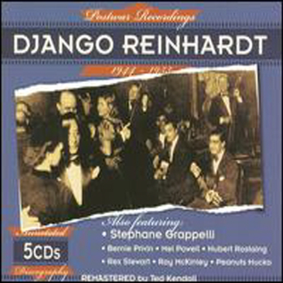 Django Reinhardt - Postwar Recordings 1944-1953 (Remastered)(5CD Boxset)