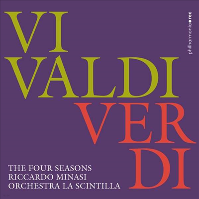 비발디: 사계 (Vivaldi: The Four Seasons)(CD) - Riccardo Minasi