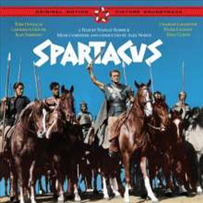 Alex North - Spartacus (스파르타쿠스) (1960)(Ltd. Ed)(Soundtrack)(Remastered)(4 Bonus Tracks)(2CD)