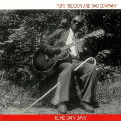 Blind Gary Davis (Rev. Gary Davis) - Pure Religion & Bad Company (Bonus Track)(Gatefold)(180G)(Vinyl LP)