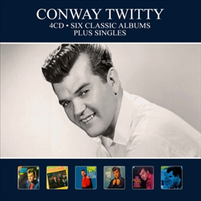 Conway Twitty - Six Classic Albums + Singles (Digipack)(4CD)