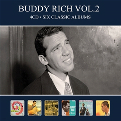Buddy Rich - Six Classic Albums Vol.2 (Digipack)(4CD)