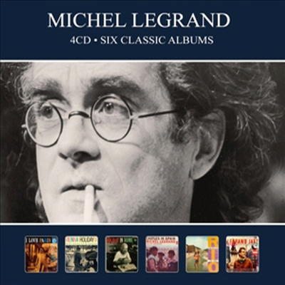 Michel Legrand - Six Classic Albums (Remastered)(Digipack)(4CD)