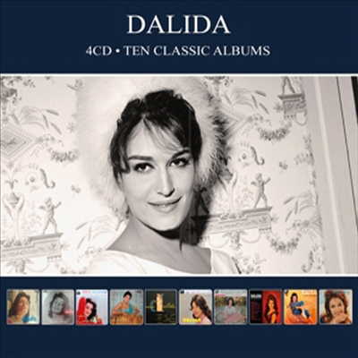 Dalida - Ten Classic Albums (Remastered)(Digipack)(4CD)