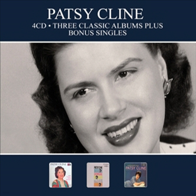 Patsy Cline - Three Classic Albums Plus Bonus Singles (Digipack)(4CD)
