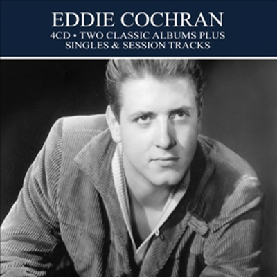 Eddie Cochran - Two Classic Albums Plus Singles & Session Tracks (Remastered)(Digipack)(4CD)