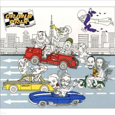 Tokyo Ska Paradise Orchestra (도쿄 스카 파라다이스 오케스트라) - Grandprix (SACD Hybrid)