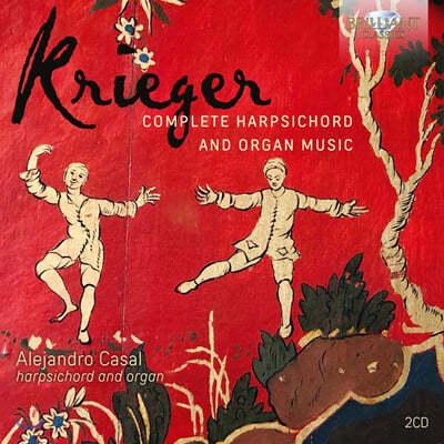 Alejandro Casal 요한 크리거: 파르티타, 건반악기를 위한 연습곡 [하프시코드 & 오르간 연주반]