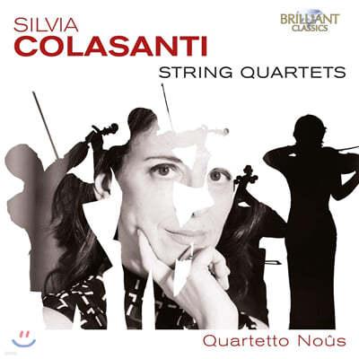 Quartetto Nous 실비아 콜라산티: 현악 4중주 (Silvia Colasanti: String Quartets)