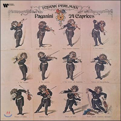 Itzhak Perlman 파가니니: 24개의 카프리스 - 이차크 펄만 (Paganini: 24 Caprices) [2LP]