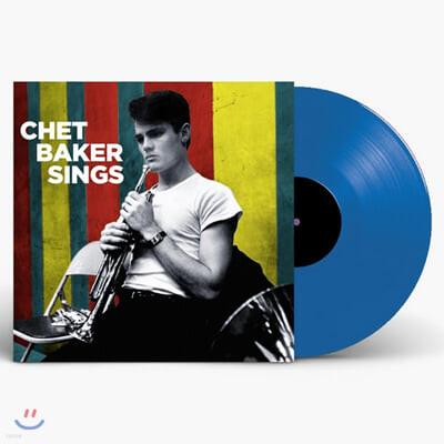 Chet Baker (쳇 베이커) - Sings [투명 블루 컬러 LP]