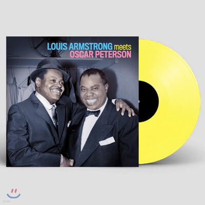 Louis Armstrong / Oscar Peterson (루이 암스트롱 / 오스카 피터슨) - Louis Armstrong Meets Oscar Peterson [옐로우 컬러 LP]