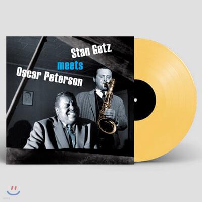Stan Getz / Oscar Peterson (스탄 게츠 / 오스카 피터슨) - Stan Getz Meets Oser Peterson [오렌지 컬러 LP]