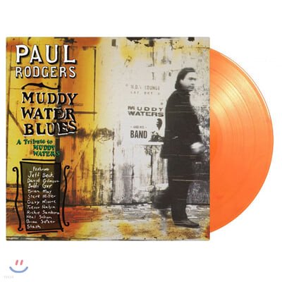 Paul Rodgers (폴 로저스) - Muddy Water Blues [오렌지 컬러 2LP]