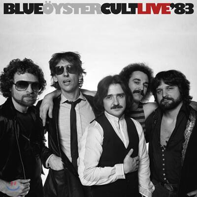 Blue Oyster Cult (블루 오이스터 컬트) - Live '83 [블루 & 블랙 소용돌이 컬러 2LP]