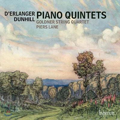 Piers Lane 데란제 & 던힐 : 피아노 5중주곡 (Dunhill & Erlanger: Piano Quintets)