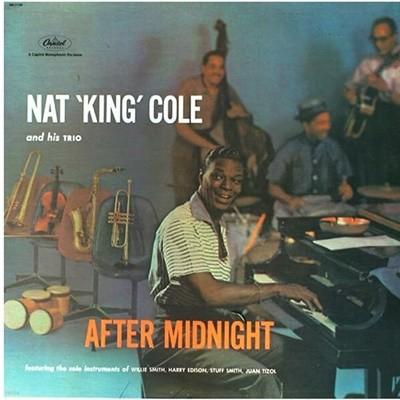 [중고 LP] Nat King Cole - After Midnight (US 수입반)