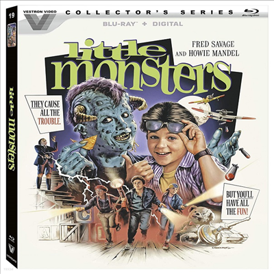 Little Monsters (Vestron Video Collector's Series) (침대 귀신) (1989)(한글무자막)(Blu-ray)