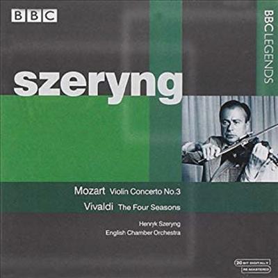모차르트 : 바이올린 협주곡 3번, 비발디 : 사계 전곡, 두 대의 바이올린을 위한 협주곡 (Mozart : Violin Concerto No.3, Vivaldi : The Season, Concerto for 2 Violin) - Henryk Szeryng