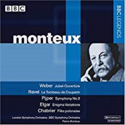 베버 : 축제 서곡, 라벨 : 쿠프랭의 무덤, 엘가 : 수수께기 변주곡 (Weber : Jubilation Overture, Ravel : Le Tombeau De Couperin, Elgar : Variations On An Original Theme 'Eniga' Op.36) - PIerre Monteux