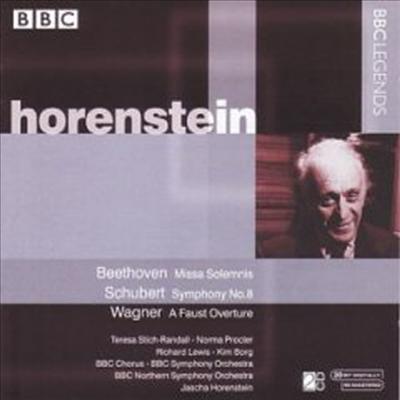 베토벤 : 장엄미사, 슈베르트 : 교향곡 8번 '미완성', 바그너 : 파우스트 서곡 (Beethoven : Missa Solemnis, Schubert : Symphony No.8 D.759 'Unfinished', Wagner : Eine Faust-Overture) (2CD) - Jascha Horenst