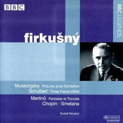 무소르그스키: 전람회의 그림 & 스메타나: 푸리안트, 연주회용 연습곡 - Rudolf Firkusny