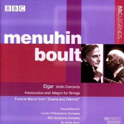 엘가 : 바이올린 협주곡, 서주와 알레그로 (Elgar : Violin Concerto Op.61, Introduction And Allegro, Op.47) - Yehudi Menuhin