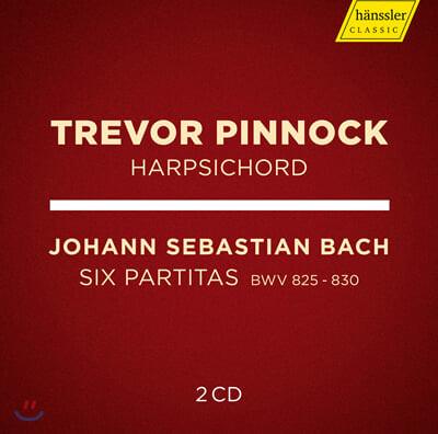 Trevor Pinnock 바흐: 건반 파르티타 전곡 (J.S.Bach: 6 Partitas, BWV 825-830)