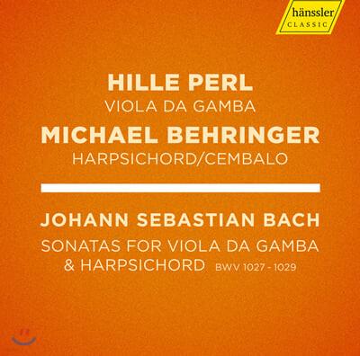 Hille Perl 바흐: 비올라 다 감바 소나타 전곡 (J.S.Bach: Viola da gamba Sonatas, BWVV 1027 - 1029)