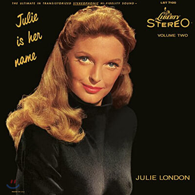 Julie London (줄리 런던) - Julie Is Her Name Vol. 2 [2LP]