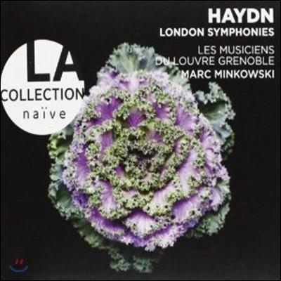 하이든 : 런던 교향곡 102번, 103번, 104번 - 민코프스키