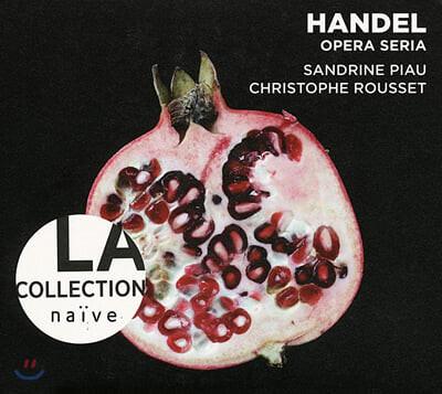 헨델 : 오페라 세리아의 아리아 모음집 - 상드린 피우