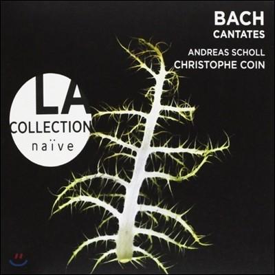 바흐 : 칸타타 BWV.180, 49, 115 - 바바라 슐리크, 안드레아스 숄, 코인