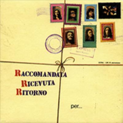 Raccomandata Ricevuta Ritorno - Per Un Mondo Di Cristallo (Gatefold Sleeve)(180g Audiophile Heavyweight Vinyl LP)