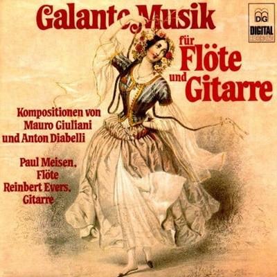 Mauro Giuliani, Anton Diabelli - Galante Musik fur Flote und Gitarre