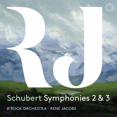 Rene Jacobs 슈베르트: 교향곡 2번, 3번 (Schubert: Symphonies 2 & 3)