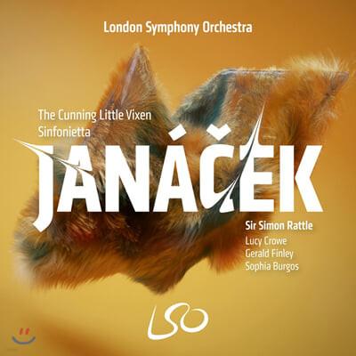 Simon Rattle 야나체크: 오페라 '영리한 새끼 암여우', 신포니에타 (Janacek: The Cunning Little Vixen, Sinfonietta)